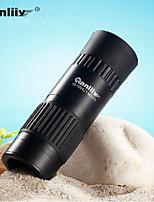 Monocular - Binoculares de Aumento - Impermeable/Tamaño Compacto - 30 X 21 Negro