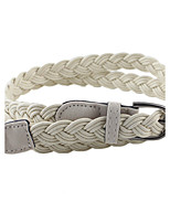 New Coming Simple Braided Rope Fashion Waist Belt