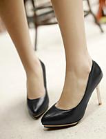 Women's Shoes Stiletto Heel Heels/Pointed Toe Pumps/Heels Office & Career/Dress Black/Green/Red