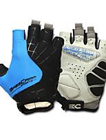Basecamp Silica GeL Lycra Soft Mat Short Ride Bycicle Semi-finger Gloves Blue BC-202