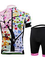 Women Cycling Sports Full Zipper Pro Jersey Top Pant Shorts Set