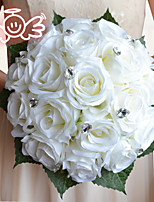 Rose Simulation Flower The Bride Holding Flowers