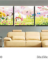 DIY Digital Oil Painting With Solid Wooden Frame Family Fun Painting All By Myself Spring Morning 7030