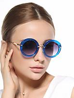 femmes 's 100% UV400 Rond Lunettes de Soleil