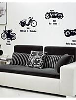vélo et moto amovibles stickers muraux