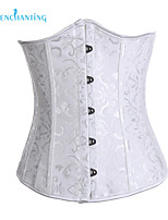 Senchanting Fashionable Homecoming White Strapless Shapewear Corset