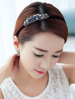 Diamond double fine hair hoop before issuing Liu Haifa top clip to tire