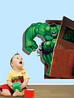 3D Wall Stickers Wall Decals Style Cartoon Animation PVC Wall Stickers