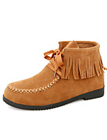 Women's Shoes Flat  Heel  Round Toe Booties More Colors available