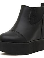 Chaussures Femme - Décontracté - Noir - Gros Talon - Styles - Bottes - Faux Cuir
