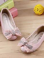 Flade sko ( Rosa/Hvid ) - GIRL - Komfort