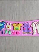 bei vestiti fondente a forma di stampo in silicone torta al cioccolato, attrezzi della decorazione bakeware