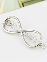 Women Vintage Characters 8 Alloy Hair Clip