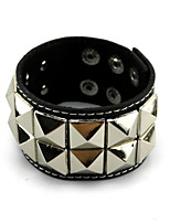 Dramatical Murder Alloy/PU Leather Punk Bracelet More Accessories