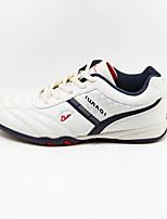 Zapatos de mujer - Tacón Plano - Comfort - Sneakers a la Moda - Exterior / Deporte - Semicuero - Negro / Blanco