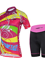 Women Outdoor Sport Bicycle Bike Cycling Clothing Wear Jersey Shorts Sets