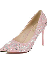 Women's Shoes Glitter Stiletto Heel Comfort Pointed Toe Pumps Wedding and Party More Colors available