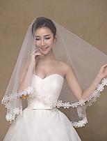вуаль венчания одноуровневой локоть завесы
