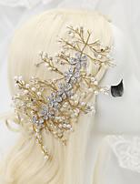 Bergkristal/Licht Metaal/Imitatie Parel Vrouwen/Bloemenmeisje Helm Bruiloft/Speciale gelegenheden HoofdbandenBruiloft/Speciale
