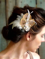 Hand Made Wedding Feather Hair Fascinator Headpieces Fascinators 005