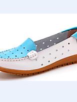 Women's Shoes Flat Heel Ballerina Flats Casual Blue/Red