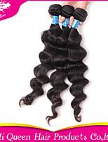 ali produits capillaires queen 6a cheveux péruvien ondes gonflable naturelles de cheveux 3pcs / lot 100% des extensions de cheveux humains