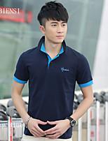 T-shirt Uomo Casual Manica corta Cotone