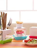 pot organisateur couvercle de casserole en rack stand cuisine porte ustensile en forme de hutte-conçu (couleur aléatoire)