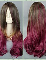 Beautiful Pink Ombre Wig Lolita Gradient Pink Purple Maid Japanese Cosplay Wig