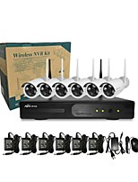 Ann® 6 CH H.264 Home Security System DVR Kit (Channel 8  IR-cut Outdoor Waterproof Camera, HDMI, USB  Wifi)