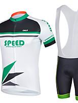 Cycling Bike Short Sleeve Clothing Set Bicycle Men Wear Suit Jersey Bib Shorts
