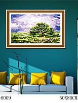 DIY Digital Oil Painting  Large Size Without Frame  Family Fun Painting All By Myself     The Tree 6009