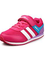 Children's Shoes  Outdoor/Athletic/Casual Round Toe/Closed Toe Faux Fashion Sneakers Blue/Red