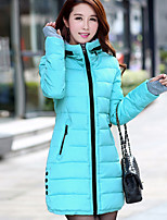 Women's Long Sleeve Parka Coat Casual Work Others