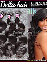 Brazilian Hair Weave Bundles Body Wave 3pcs/lot Virgin Remy Human Hair Extensions Double Weft