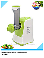 2015 New Multi Function Fruit Ice Cream Maker with Salad Machine,Slicing,Shredding,Fine Grinding,2 in 1 for Home