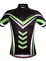 WOSAWE Cycling Jersey Summer Bike Bicycle  Quick Dry Breathable Short Sleeve Shirt
