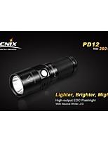 Linternas LED (A Prueba de Agua / Emergencia) - LED 4.0 Modo 360lm Lumens XM-L2 T6 - paraCamping/Senderismo/Cuevas / De Uso Diario /
