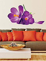 Wall Stickers Wall Decals Style Romantic Purple Dream PVC Wall Stickers