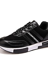 Men's Shoes Casual Tulle Fashion Sneakers Black/Blue/White