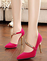 Women's Shoes Fleece Stiletto Heel Pointed Toe Pumps Dress More Colors available