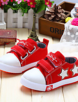 Children Shoes Outdoor/Casual Canvas Fashion Sneakers Black/Blue/Red