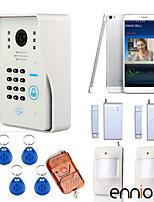 One to One de vídeo portero automático ( 3.5 inch, Fotografiado/Grabación ) - Teléfono