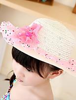 Children's Cartoon Flower Lace Ddesign Neutral Sun Hat
