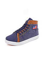 Men's Shoes  Canvas  Flat Heel  Comfort  Round Toe  Fashion Sneakers  Outdoor  Casual