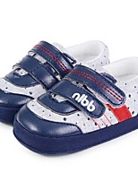 Baby Shoes Casual Linen Athletic Shoes Blue/Tan