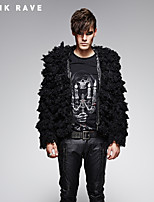 PUNK RAVE Y-386 Men's Casual Pure Long Sleeve Regular Coat