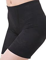 Panties ( negro/Almendra , Poliéster/Spandex , Bordado )