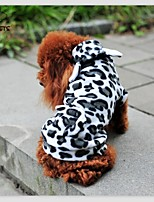 FUN OF PETS® Dairy Cattle Shape Hoody Suite for Pet Dogs(Assorted Sizes)