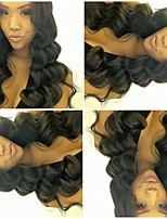 100% Brazilian Human Hair Body Wave Natural Color 10-28inch 130% Density Wig Full Lace Wigs For Black Women